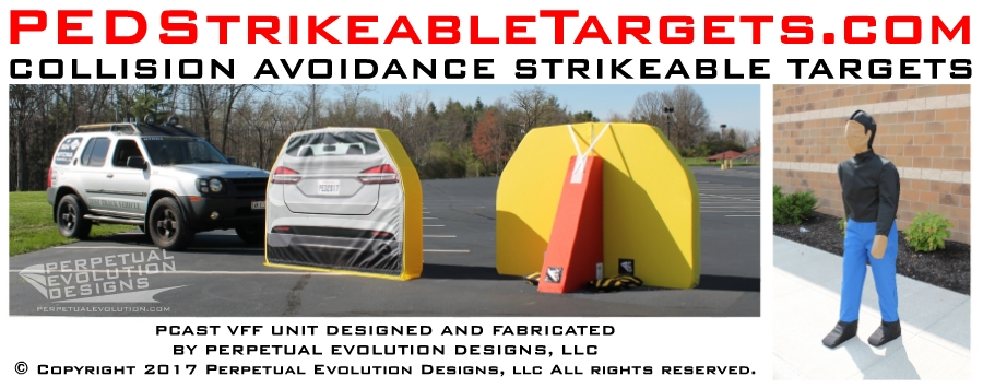 PED Strikeable Targets for AEB Testing